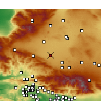 Nearby Forecast Locations - Lancaster - Χάρτης