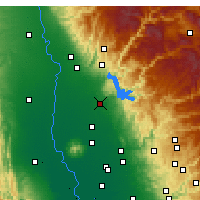 Nearby Forecast Locations - Oroville - Χάρτης