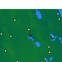 Nearby Forecast Locations - Leesburg - Χάρτης