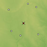 Nearby Forecast Locations - Clarion - Χάρτης
