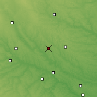 Nearby Forecast Locations - Newton - Χάρτης