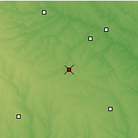 Nearby Forecast Locations - Chariton - Χάρτης