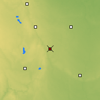 Nearby Forecast Locations - Estherville - Χάρτης