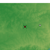 Nearby Forecast Locations - Bowling Green - Χάρτης