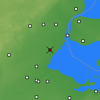 Nearby Forecast Locations - Monroe - Χάρτης