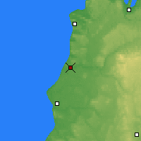 Nearby Forecast Locations - Manistee - Χάρτης
