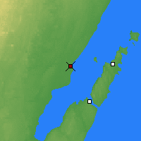 Nearby Forecast Locations - Menominee - Χάρτης