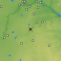 Nearby Forecast Locations - Faribault - Χάρτης