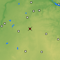 Nearby Forecast Locations - Owatonna - Χάρτης