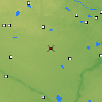 Nearby Forecast Locations - Hutchinson - Χάρτης