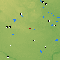 Nearby Forecast Locations - Litchfield - Χάρτης