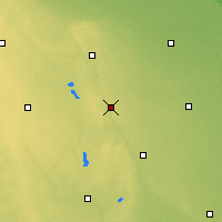 Nearby Forecast Locations - Jackson - Χάρτης