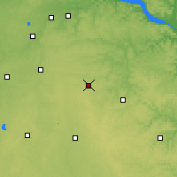 Nearby Forecast Locations - Dodge Center - Χάρτης