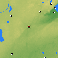 Nearby Forecast Locations - Moose Lake - Χάρτης
