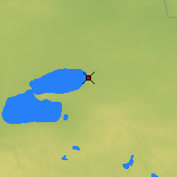 Nearby Forecast Locations - Waskish - Χάρτης