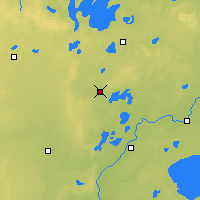 Nearby Forecast Locations - Pine River - Χάρτης