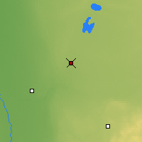 Nearby Forecast Locations - Thief River F. - Χάρτης