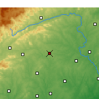 Nearby Forecast Locations - Statesville - Χάρτης