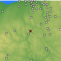 Nearby Forecast Locations - Wooster - Χάρτης