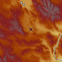 Nearby Forecast Locations - Baker City - Χάρτης