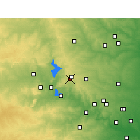 Nearby Forecast Locations - Burnet - Χάρτης
