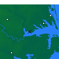 Nearby Forecast Locations - Edenton - Χάρτης