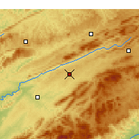 Nearby Forecast Locations - Abingdon - Χάρτης