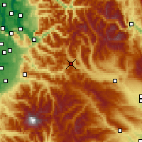 Nearby Forecast Locations - Stampede - Χάρτης