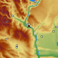 Nearby Forecast Locations - Wenatchee - Χάρτης