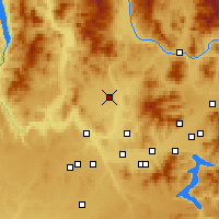 Nearby Forecast Locations - Deer Park - Χάρτης