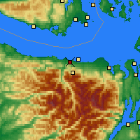 Nearby Forecast Locations - Port Angeles - Χάρτης