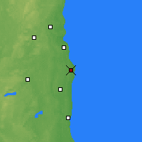 Nearby Forecast Locations - Racine - Χάρτης