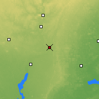 Nearby Forecast Locations - Stevens Point - Χάρτης