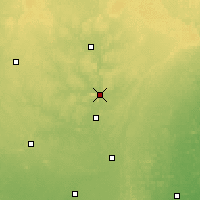 Nearby Forecast Locations - Wausau - Χάρτης