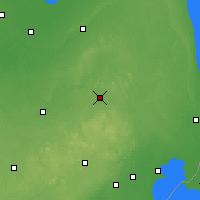 Nearby Forecast Locations - Lapeer - Χάρτης