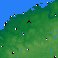 Nearby Forecast Locations - Słupsk - Χάρτης