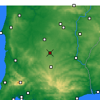 Nearby Forecast Locations - Castro Verde - Χάρτης