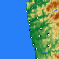 Nearby Forecast Locations - Esposende - Χάρτης