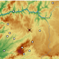 Nearby Forecast Locations - Trancoso - Χάρτης