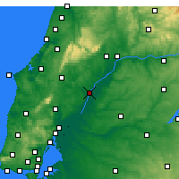 Nearby Forecast Locations - Santarém - Χάρτης