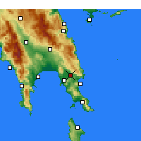 Nearby Forecast Locations - Συκέα - Χάρτης