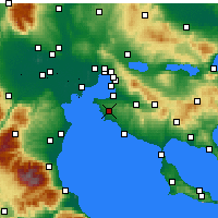 Nearby Forecast Locations - Επανομή - Χάρτης