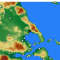 Nearby Forecast Locations - Βόλος - Χάρτης