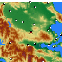 Nearby Forecast Locations - Δομοκός - Χάρτης