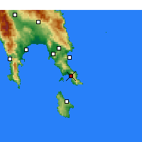 Nearby Forecast Locations - Νεάπολη Λακωνίας - Χάρτης