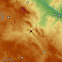 Nearby Forecast Locations - Calatayud - Χάρτης