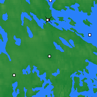 Nearby Forecast Locations - Varkaus - Χάρτης