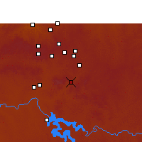 Nearby Forecast Locations - Heidelberg - Χάρτης