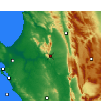 Nearby Forecast Locations - Piketberg - Χάρτης