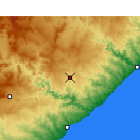 Nearby Forecast Locations - Butterworth - Χάρτης